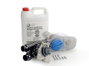 ES#2593411 - 06H121026BAKT1 - Cooling System Refresh Kit - Level 1 - Service your critical cooling system components with one kit! - Genuine Volkswagen Audi - Audi