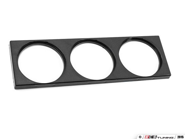 ES#3081587 - 9178628 - VW Mk4 Triple Gauge Panel - Black - Add some style and function you your vehicle with this triple gauge panel - 42 Draft Designs - Volkswagen