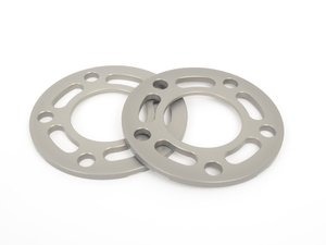 ES#3028403 - TWH9905003 - 7.5mm Wheel Spacers - Silver (Pair) - Lightweight wheel spacers with a machined tab for easy removal - Turner Motorsport - BMW MINI