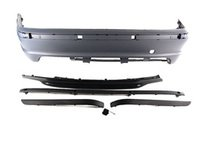 ES#2153831 - E46/4RRMTECH - M-Tech 2 Sedan Replica Bumper Conversion - Rear - M-tech styling, kit convenience - ECS - BMW