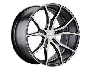 "ES#3086168 - VD01-13kt - 20"" VD01 Style Wheels - Set Of Four - 20""x10"" ET50 71.6CB 5x130 Matte Black Brushed - Varro Wheels - Audi Volkswagen"