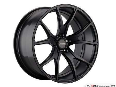"ES#3086171 - VD01-85kt - 22"" VD01 Style Wheels - Set Of Four - 22""x9"" ET42 71.6CB 5x130 Satin Black - Varro Wheels - Audi Volkswagen"