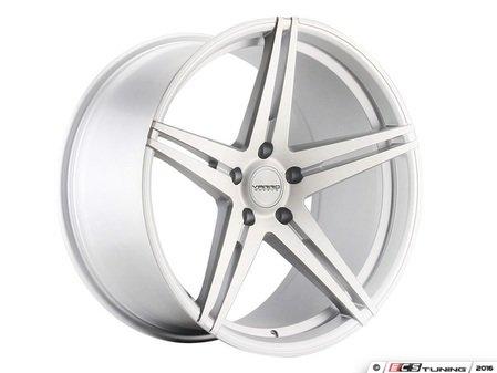 "ES#3086178 - VD03-14kt - 20"" VD03 Style Wheels - Set Of Four - 20""x8.5"" ET45 71.6CB 5x130 Matte Silver Brushed - Varro Wheels - Audi Volkswagen"