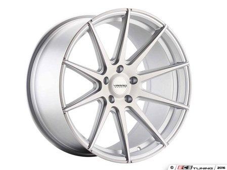 "ES#3086150 - VD10-34kt1 - 20"" VD10 Style Wheels - Set Of Four - 20""x10"" ET35 57.1CB 5x112 Matte Silver Brushed - Varro Wheels - Audi"
