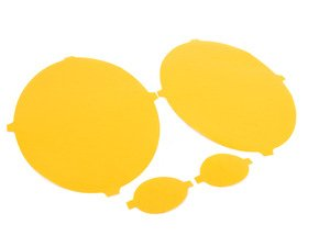 ES#2738822 - P012-Y - Headlight/Fog Light Protective Film - Yellow - Euro looks and protection at the same time - Lamin-X - Porsche