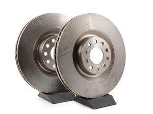 ES#3780 - 8E0615301TKT3 - Front Brake Rotors - Pair (345x30) - Restore the stopping power in your vehicle - Pilenga - Audi