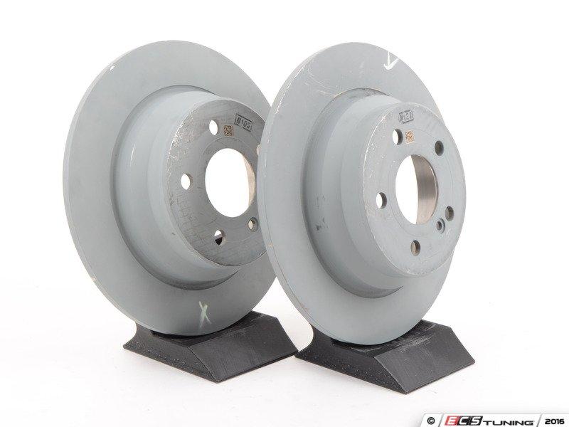 Genuine mercedes benz 0074201020kt rear brake service kit for Mercedes benz rotors and pads