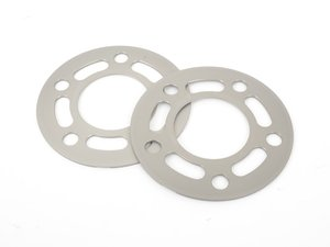 ES#3028445 - TWHF9905F04 - 3mm Big Pad Wheel Spacers - Silver (Pair) - Lightweight wheel spacers with a machined tab for easy removal - designed to work with modern large-pad BMW wheels! See description for details. - Turner Motorsport - BMW