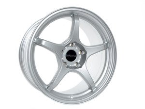 "ES#3035035 - TMS14400 - 18"" LTW5 - Staggered Set Of Four - Silver - A stylish lightweight option  --  9""F and 9.5""R Width - D-Force Wheels - BMW"