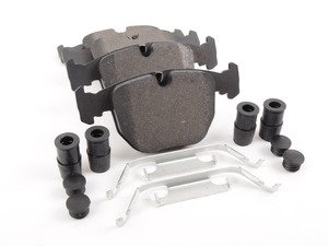 ES#3036232 - 104.06810 - Posi Quiet Brake Pads - Front  - Increase Stopping Power! - Centric - BMW