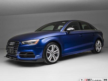 ES#2960116 - 014800ecs01 - Front Carbon Fiber Lip Spoiler  - Full front lip to give your vehicle a more aggressive look - ECS - Audi
