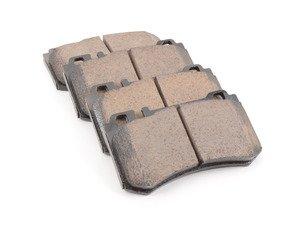 ES#3161633 - EUR984 - Euro Ultra Premium Ceramic Brake Pad Set - Includes brake pad sensors - Akebono - Mercedes Benz