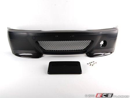 ES#1905597 - CSLE46/4FT - CSL Sedan Replica Bumper Conversion - Front - CSL styling, kit convenience - ECS - BMW