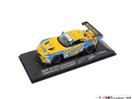 ES#3022921 - TMS222774 - Minichamps - Turner Motorsport #94 BMW Z4 GTD 2014 IMSA Champion 1:43  - Turner Motorsport - BMW