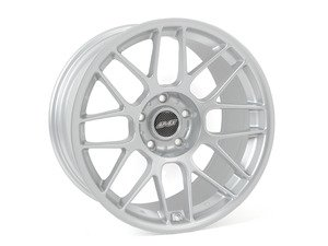 18 inch APEX ARC-8 Square Wheel Set - Silver