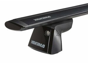 """ES#3096343 - 8000145kt1 - RidgeLine Towers With 50"""" JetStream - Black - Strong, lightweight, aerodynamic and quiet on the move - Yakima - Audi"""