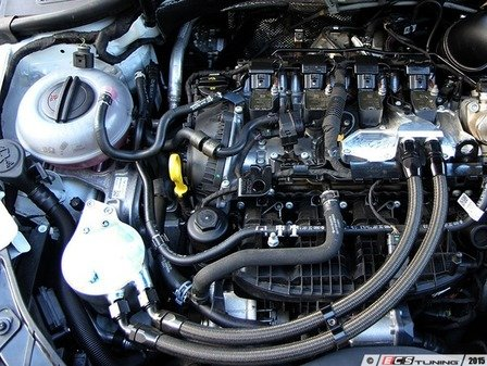 ES#2996289 - CTSCCMK7GRS3 - Billet Catch Can Kit - Reduce oil deposits that lower performance - CTS - Audi Volkswagen