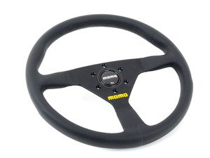 ES#3135821 - R1909/35S - MOMO MOD.78 Steering Wheel - 350mm - Customize your driving experience with this fine leather steering wheel - MOMO - Audi BMW Volkswagen Mercedes Benz MINI Porsche