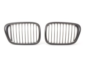 ES#3023026 - BME-1601-3000 - blackout Grille Set - Matte Black - Add style and individuality to your BMW in minutes! - ECS - BMW
