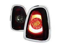 ES#3021588 - LTMINI11RGLEDTM - F56 Style LED Tail Light Red / Smoke - Pair LT-MINI11RGLED-TM - Stylish aftermarket LED tail lights for your 2011+ R56 R57 R58 R59 with smoke housing - Spec-D Tuning - MINI