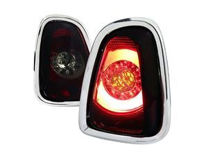 ES#3021588 - LTMINI11RGLEDTM - F56 Style LED Tail Light Red / Smoke - Pair LT-MINI11RGLED-TM - Stylish aftermarket LED tail lights for your 2011+ R56 R57 R58 R59 with smoke housing - Spec-D Tuning - MINI