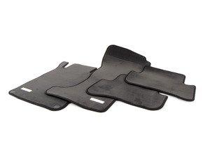 ES#1820774 - 66290035 - Carpeted Floor Mat Set - Black - Genuine Mercedes Benz - Mercedes Benz
