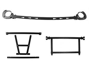 """ES#3088965 - 56-5M7552 - Stage III Suspension Bundle - Strut Tower """"J"""" Brace Kit, exclusive Under Strut System AND the M7 Rear Chassis Brace for the R56 MINI Cooper. - M7 Speed - MINI"""