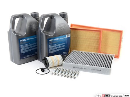 ES#2718165 - 101905621BKT4 - 40k Service Kit - With ECS Magnetic Drain Plug - Everything you need to perform the recommended 40k mile service - Assembled By ECS - Audi Volkswagen