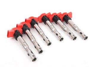ES#2677983 - 06E905115EKT11 - Ignition Coils - Set Of Six - A common cure for misfire codes - Huco - Audi