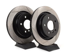 ES#3025837 - 34212227177.8GS - Gas-Slotted Brake Rotors - Rear - This design removes performance robbing outgas and material dust caused by braking - StopTech - BMW