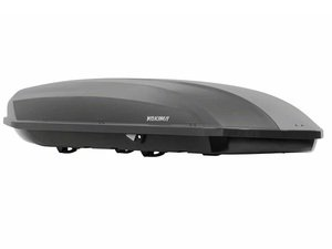 ES#3028792 - 8007329 - ShowCase 20 - Quicksilver - This Roomy box is like a second trunk for your roof - Yakima - Audi BMW Volkswagen Mercedes Benz MINI Porsche