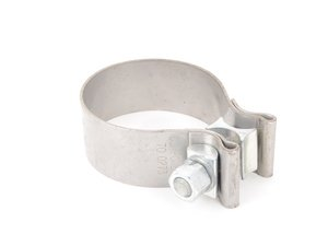 "ES#2855247 - NBC250 - 2.5"" (63.5mm) Exhaust Clamp - Priced Each  - Stainless steel exhaust band clamp - ECS - Audi BMW Volkswagen Mercedes Benz MINI Porsche"