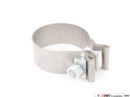 "ES#2855247 - NBC250 - 2.50"" (63.5mm) Exhaust Clamp - Priced Each  - Stainless steel exhaust band clamp - ECS - Audi BMW Volkswagen Mercedes Benz MINI Porsche"