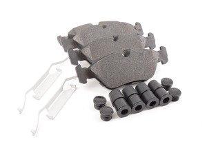 ES#3036226 - 104.02530 - Posi Quiet Bake Pads - Front - E24/E28, E30 M3 - Centric -