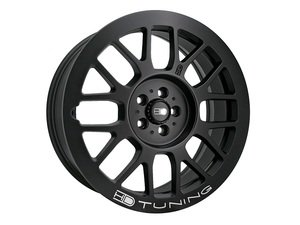 "ES#3098650 - ge18902245sbKT - 18"" Gear Wheels - Set Of Four - 18""x9.0"" ET45 5x112 - Matte Black - HD Tuning - Audi Volkswagen"
