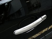 ES#10343 - VT#1A0013-1 - Chrome Door Handle Cover Kit - 4 Door - Transform the look of your VW Golf , Jetta, and New Bettle with these Chrome door handle covers. This kit contains one key hole - ECS - Volkswagen