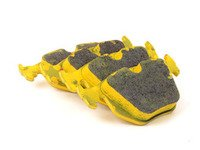 ES#3545919 - 268529 - RSL29 Yellow Endurance Racing Brake Pads - Rear - Popular street and endurance racing pad. Same friction material used in several European racing series. - Pagid Racing - BMW