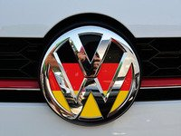 ES#3096456 - K1FR17 - Front Badge Inlay - German Flag - 5-piece badge inlay set that can be applied without removing the badge - Klii Motorwerkes - Volkswagen