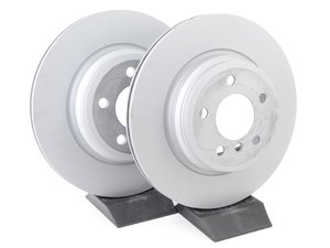 ES#2696081 - 34216864899KT - Rear Brake Rotors (330x20) - Pair  - Replace your worn rear rotors today - Genuine BMW - BMW