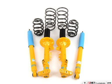 ES#2984026 - 46-242808 - B12 Pro-Kit Suspension System - Expertly matched performance Eibach Pro-line lowering springs and Bilstein shock/strut package for a dramatic increase in performance handling. World-famous Bilstein quality with a limited lifetime warranty! - Bilstein - BMW