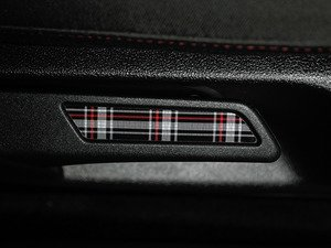 ES#3096640 - K9SL7 - Seat Lever Inlay Set - MK6 GTI Plaid - Inserts to fill the voids on both front seat levers - Klii Motorwerkes - Volkswagen