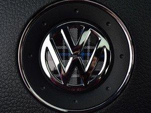 ES#3096384 - K11SW15 - Steering Wheel Badge Inlay - MK6 TDI Plaid - 5-piece badge inlay set for your steering wheel emblem - Klii Motorwerkes - Volkswagen
