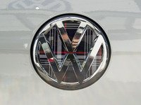 ES#3096389 - K12RE12 - Rear Badge Inlay - MK7 GTI Plaid - 1-piece full circle badge inlay that requires removal of the badge for installation - Klii Motorwerkes - Volkswagen