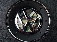 ES#3096408 - K15SW15 - Steering Wheel Badge Inlay - Woodland Camo - 5-piece badge inlay set for your steering wheel emblem - Klii Motorwerkes - Volkswagen