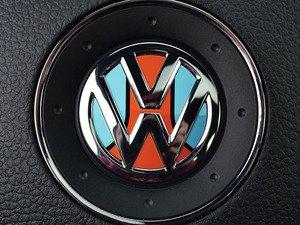 ES#3096424 - K17SW15 - Steering Wheel Badge Inlay - Racing Livery No.1 - 5-piece badge inlay set for your steering wheel emblem - Klii Motorwerkes - Volkswagen