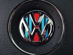 ES#3096442 - K18SW4 - Steering Wheel Badge Inlay - Racing Livery No.2 - 5-piece badge inlay set for your steering wheel emblem - Klii Motorwerkes - Volkswagen
