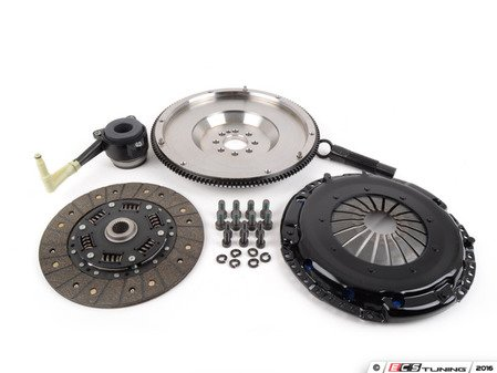 ES#3021858 - BFI20T3240ST2 - BFI Stage 2 Clutch Kit - Forged Steel Flywheel (18.85lbs) - Includes a lightweight 4140 forged steel flywheel, performance pressure plate and full faced steel back clutch disk. Rated for 400wtq. - Black Forest Industries - Volkswagen
