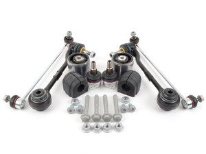 ES#2826506 - 31126768989KT - Front Suspension Refresh Kit - Level 1 - Control arms, end links and sway bar bushings for a partial front suspension rebuild - Assembled By ECS - BMW