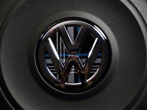 ES#3102273 - K14SW15 - Steering Wheel Badge Inlay - MK7 TDI Plaid - 5-piece badge inlay set for your steering wheel emblem - Klii Motorwerkes - Volkswagen