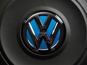 ES#3102313 - K36SW15 - Steering Wheel Badge Inlay - Silk Blue Metallic - 5-piece badge inlay set for your steering wheel emblem - Klii Motorwerkes - Volkswagen